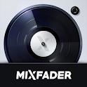 Mixfader dj - digital vinyl icon