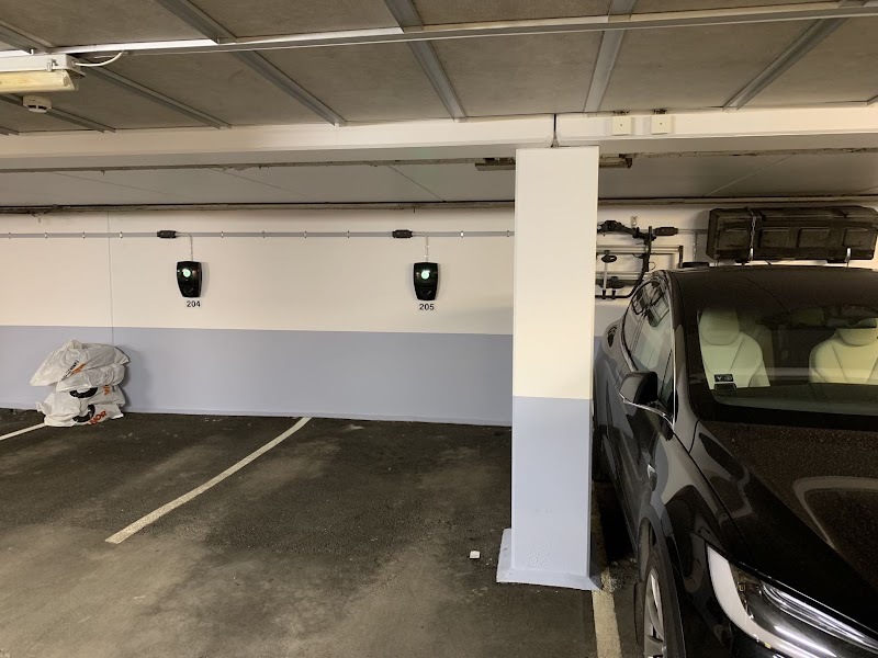 Oslo, parking charging station