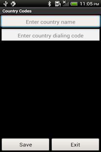 Country Codes- screenshot thumbnail