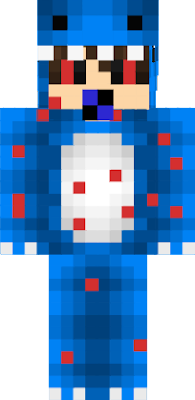 The most evil and scary baby is a blue baby with black red eyes with black pupils has a blue colored king pacifier to use with the more player models mod