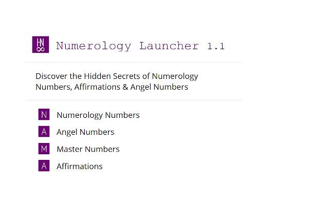 Numerology Launcher