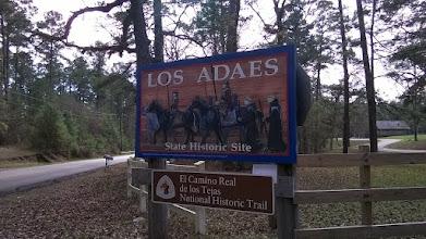 Photo: Los Adaes site Rabelais LA
