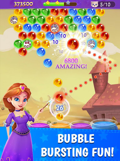 Bubble Mania  gameplay | by HackJr.Pw 6