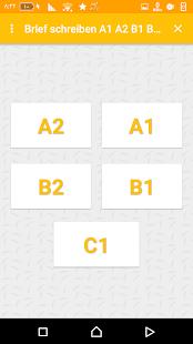 Brief schreiben A1 A2 B1 B2 C1 - náhled