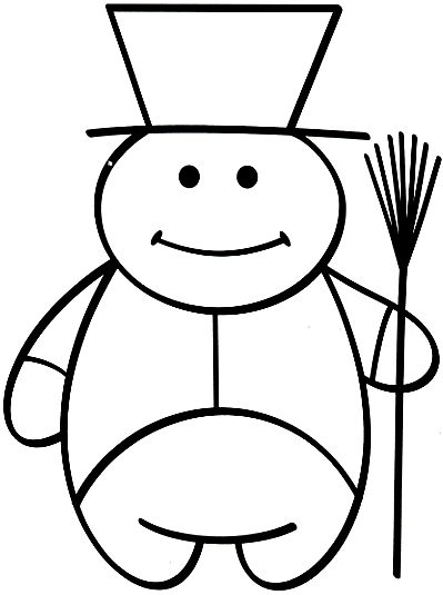 street-sweeper - free coloring pages