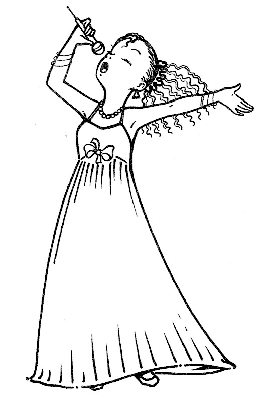 Famous Singers Coloring Pages - Free Coloring Pages