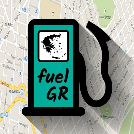 fuelGR: fuel prices & stations 遊戲 App LOGO-硬是要APP