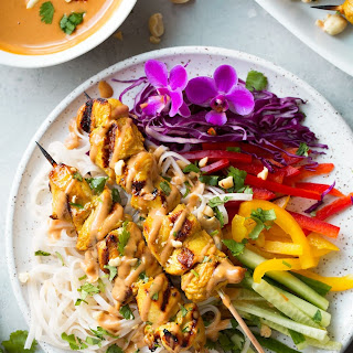 Chicken Satay Ginger Sauce Recipes.