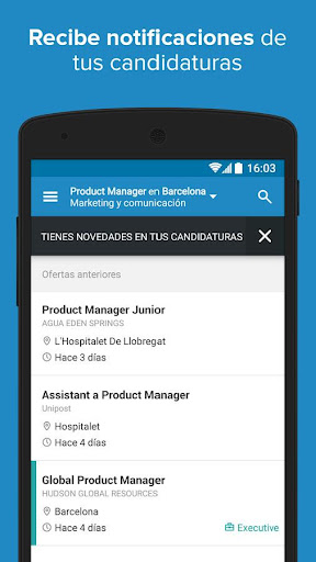 InfoJobs - Job Search  screenshots 6