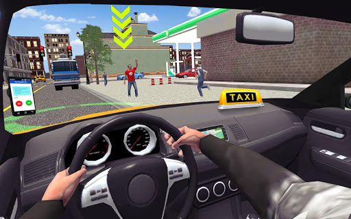 Code Triche ville Taxi chauffeur sim 2016: multijoueur taxi 3d APK MOD screenshots 1
