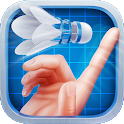 Badminton 3D icon