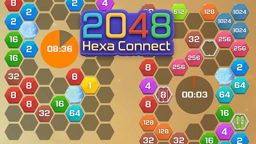 Merge  Block Puzzle - 2048 Hexa apkpoly screenshots 6