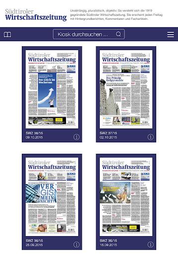 Südtiroler Wirtschaftszeitung