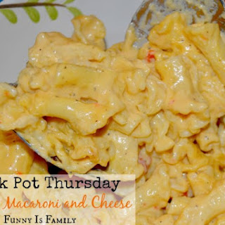 Crock Pot Macaroni And Cheese With Cheddar Cheese Soup Recipes