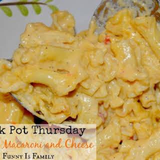 Creamy Crock Pot Macaroni and Cheese.