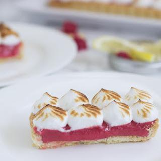 Raspberry Lemon Meringue Tart