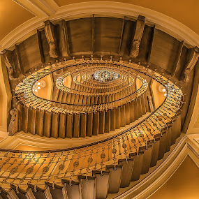 ...up to - Liberty staircase - Staircase Project by Luigi Alloni - Buildings & Architecture Other Interior ( staircase perspective liberty indoor luigialloni )