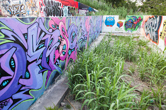"""Photo: Never Give Up - You Hold the Key  June 6th, 2012 at the """"Foundation Graffiti"""" / HOPE Global Outdoor Gallery project  Posting for #StreetArtSunday curated by+Luís Pedro+Mark Seymour& myself  #streetart  #graffiti  #graffitiphotography  #streetartphotography"""