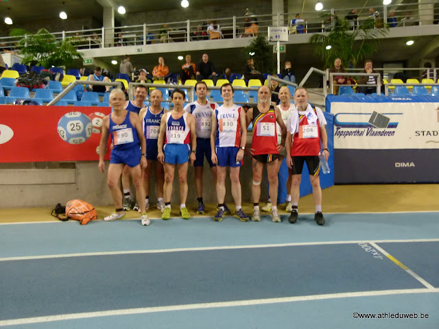 8TH EUROPEAN VETERANS ATHLETICS CHAMPIONSHIPS INDOOR GAND P1170714