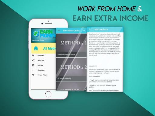 Earn Money Online - Tips & Ideas screenshots 1