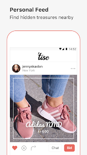 Tise- screenshot thumbnail