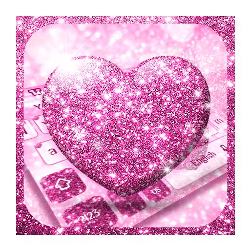 Glitter Love Keyboard