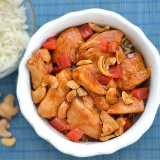 Slow Cooker Paleo Cashew Chicken