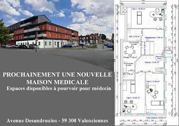 locaux professionnels à Valenciennes (59)