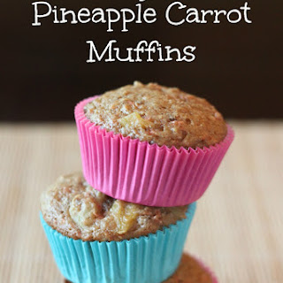 Pineapple Carrot Muffins