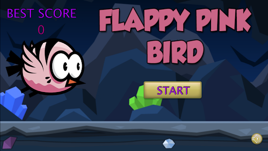 Flappy Pink Bird for PC-Windows 7,8,10 and Mac apk screenshot 1