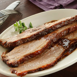 Sweet and Savory Coca Cola Brisket (Meat, Passover).