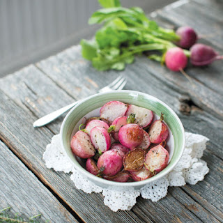 Roasted Radishes with Butter and Thyme