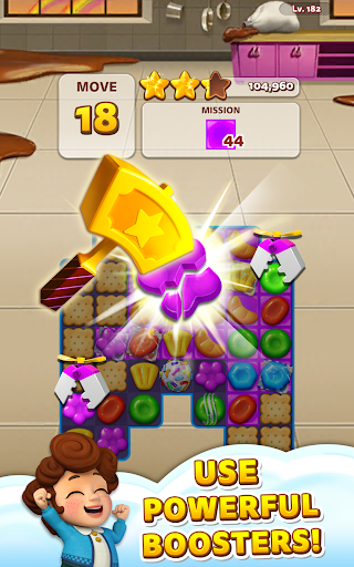 Sweet Road: Cookie Rescue Free Match 3 Puzzle Game - screenshot