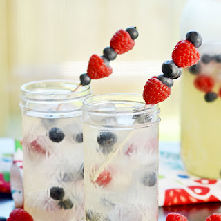 Red, White and Blueberry Lemonade