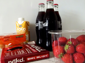 Photo: Unpacking the shopping. Here are the yummy treats and snacks I got for some Wimbledon watching this week!