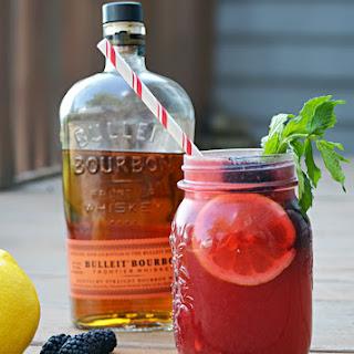 Blackberry Bourbon Lemonade.