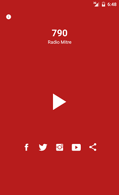 Radio Mitre 790 AM - screenshot
