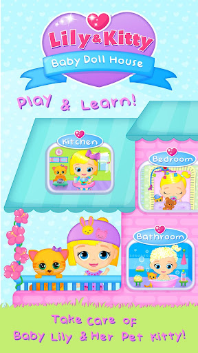 Lily & Kitty Baby Doll House 3.0.1 screenshots 1
