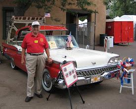 Photo: Joe Valdes and his 1959 Ford Skyliner
