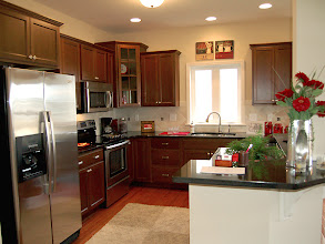 Photo: The kitchen in our CATALINA model townhome at The Havilands in Queensbury, New York.