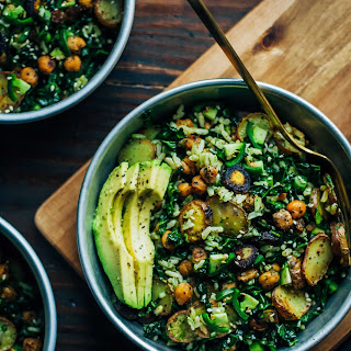 Kale Detox Salad w/ Pesto.