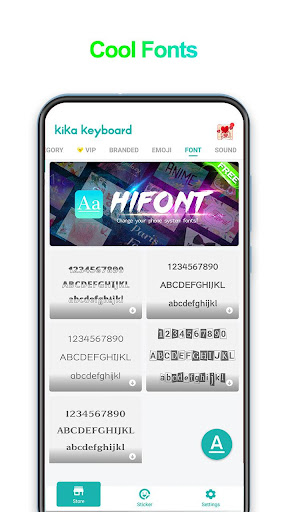 iKeyboard -GIF keyboard,Funny Emoji, FREE Stickers screenshot 6