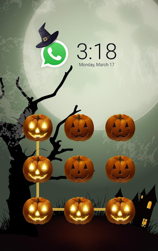 AppLock Theme Halloween screenshot 1
