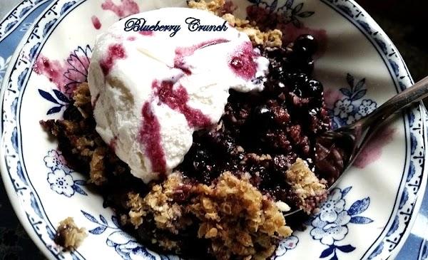 ~ Blueberry Crunch ~ Recipe