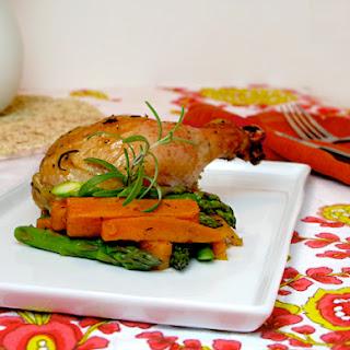 Roast Chicken with Rosemary Garlic Paste