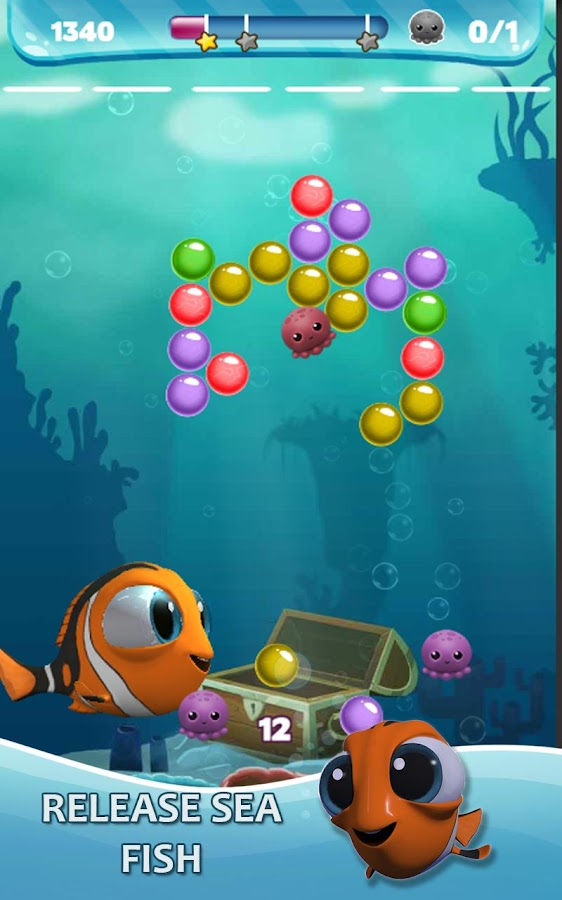 Bubble puzzle bobble fish android apps on google play for Bubble fish games