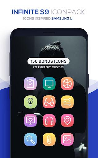 Infinite S9 Icon Pack  screenshots 7