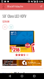 Black Friday 2016 Ads App- screenshot thumbnail