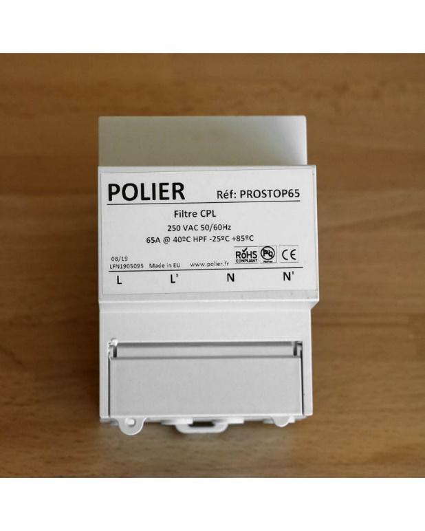 Filtre électricité sale PROSTOP65 de POLIER