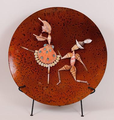 Fireburd Ballet Seashell art
